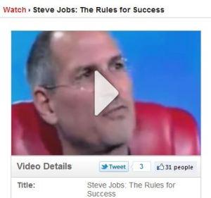 tweet like stevejobs