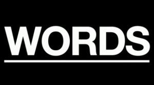 言葉 - 英語の頻出語