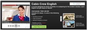 cabin crew english