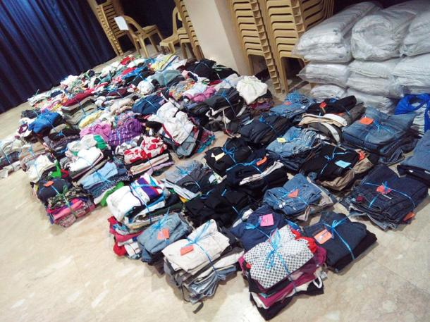 ec - gcf donated clothes day 1