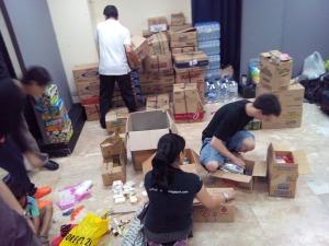 ec - gcf relief goods day 1